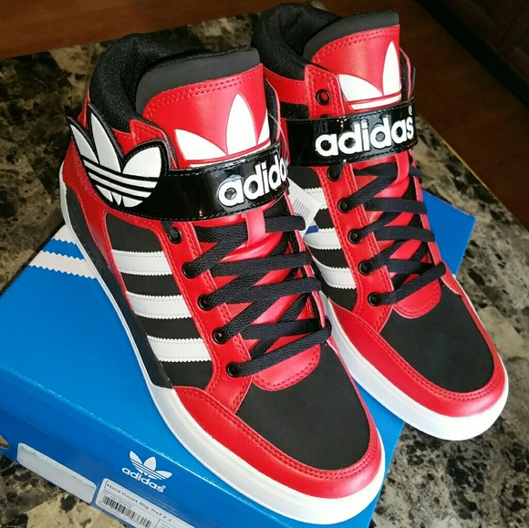adidas Hard Court Hi Big Trefoil Shoes | Adidas shoes women